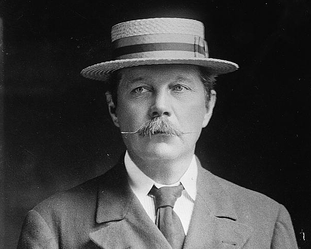 portrait of Conan Doyle