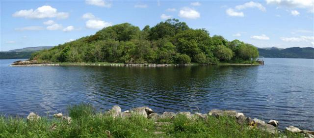 photo of the lake isle of Innisfree